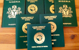 Nigerian passport with 10 years validity out in December