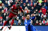 Premier League: Sadio Mane scores twice against Cardiff City to take Liverpool to top of the table + All Saturday's Results
