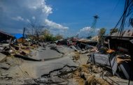 Indonesia liquified earth and tsunami swallows a whole town