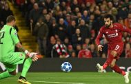 UEFA Champions League: Mo Salah 's double takes Liverpool top of Group C