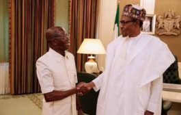 Oshiomhole meets Buhari, dismisses corruption allegations