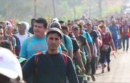 Central American migrant caravan reaches US border