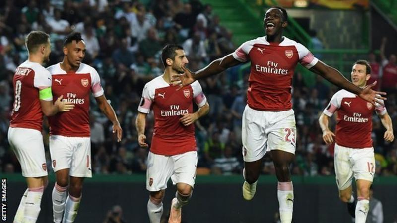 EUROPA LEAGUE: Arsenal vs Sporting Lisbon + All Fixtures for Thursday