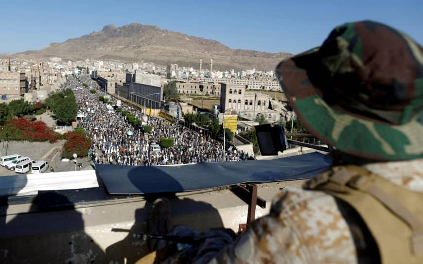 Yemen's Houthis to halt missile, drone attacks on Saudi coalition