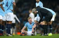 Carabao Cup (EFL) 4th Round: Kevin de Bruyne injured as Man City beat Fulham 2-0