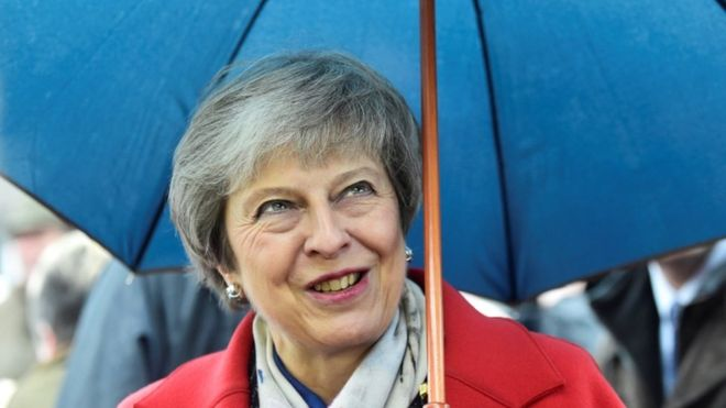 May heads to Scotland to seek voters' support for Brexit deal