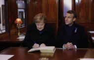 Armistice Day: Macron and Merkel mark end of World War One