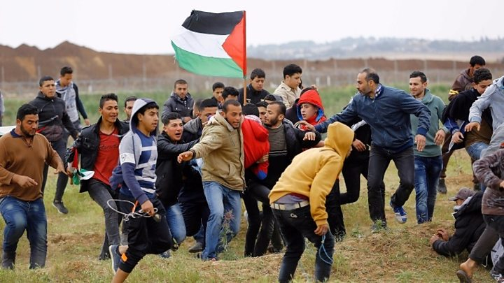 Six Palestinians, one Israeli soldier killed in Gaza clashes