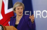 May to return to Brussels Saturday after no breakthrough on Brexit