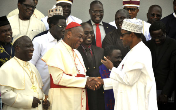 Buhari tells CAN: I am on track to achieving my goals for Nigeria