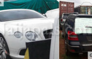 Customs confiscates 12 exotic cars