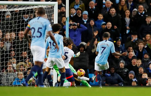 Manchester City beat Bournemouth 3-1 to open five-point lead in table