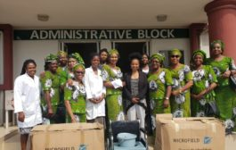 Photo News: Ladies of St. Mulumba (LSM) provide medical service equipment in Lagos State