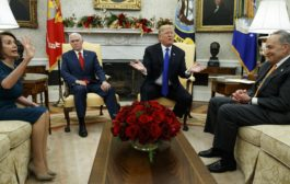 Trump threatens government shutdown in testy meeting with Democrats
