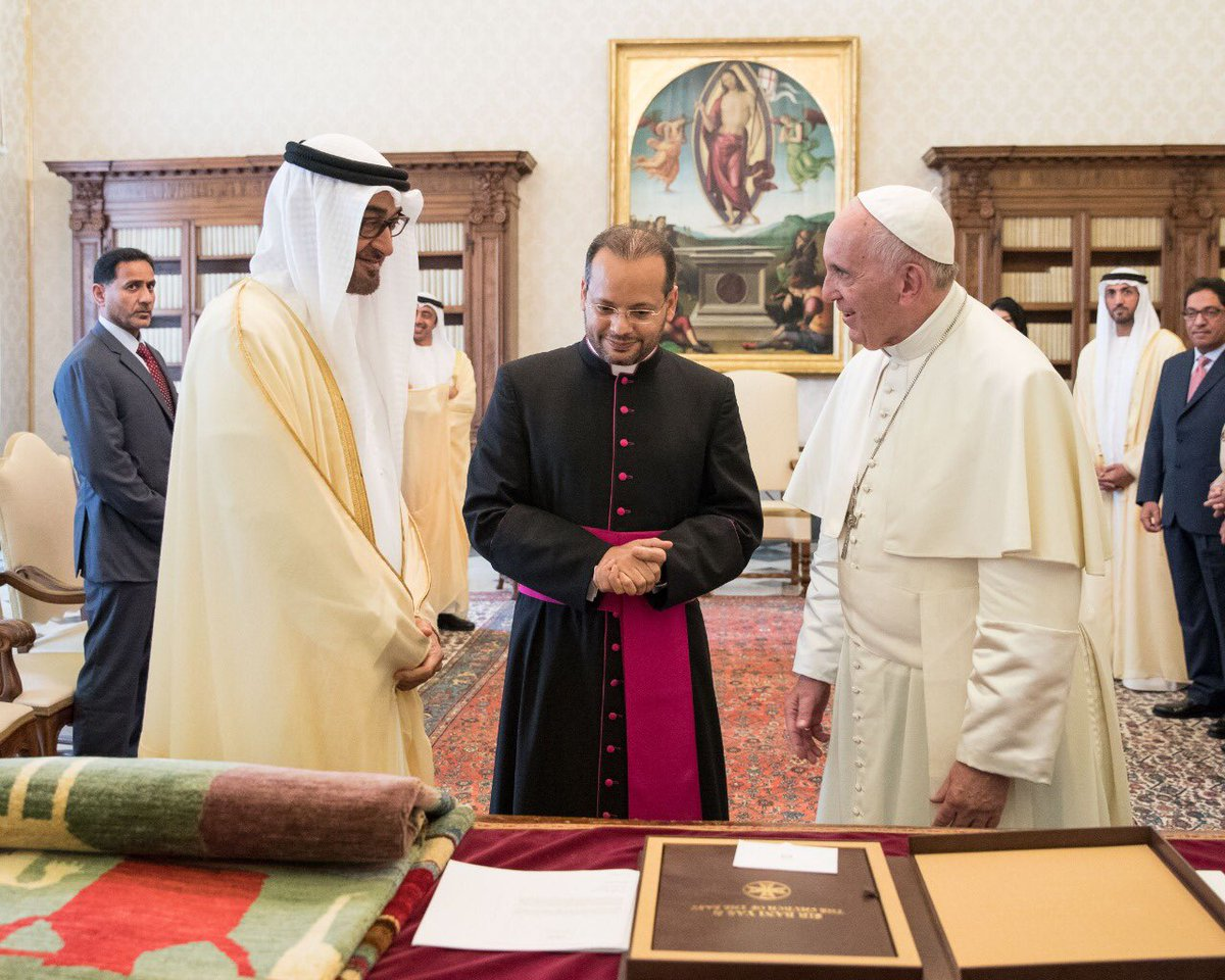 Pope Francis to visit UAE in February next year