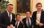 Wayne Rooney at White House for Trump's Christmas party