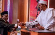 Buhari's speech when he swore in Hon. Justice Ibrahim Tanko Mohammed: Onnoghen's moral authority already wounded
