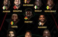 No Nigerian players among Africa's Best X1