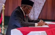 Acting CJN Tanko Mohammed inaugurates election tribunal members