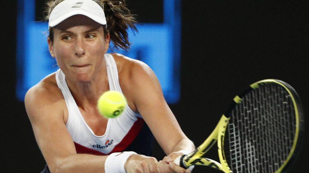 Australian Open 2019: Johanna Konta knocked out by Garbine Muguruza