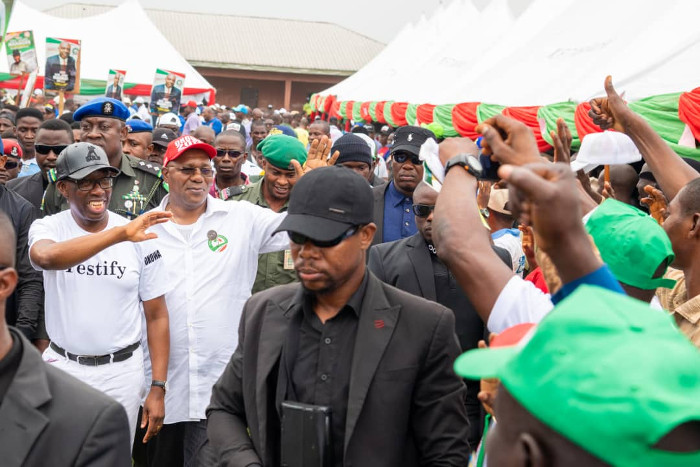Vote Only for PDP Candidates: Okowa Urges Nigerians
