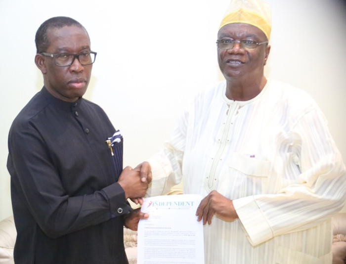 2019: Okowa challenges media to hold stakeholders accountable