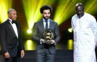 Mohamed Salah named Caf African Player of the Year for second year in a row