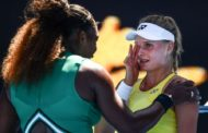 Australian Open 2019: Serena Williams comforts teenager after beating her in third round