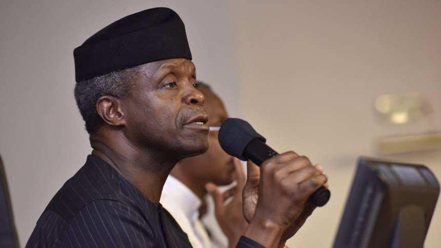 `Next level' will benefit Ekiti state – Osinbajo