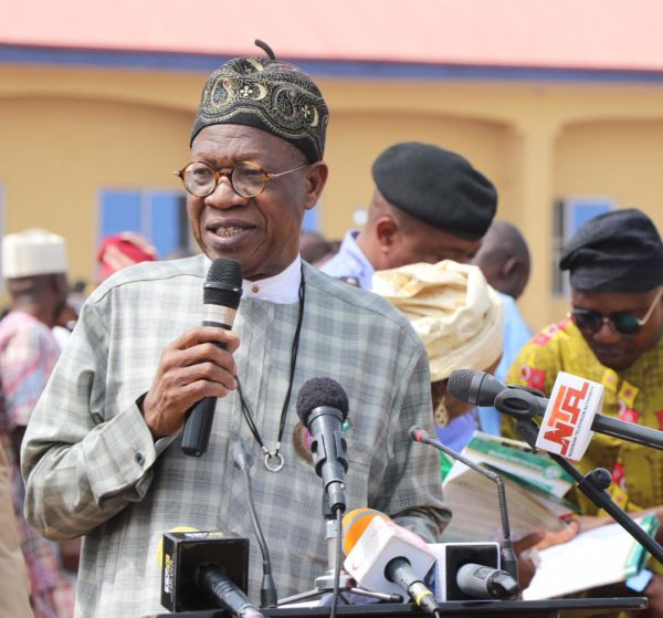 Onnoghen's suspension not connected with election, dictatorship – Lai Mohammed