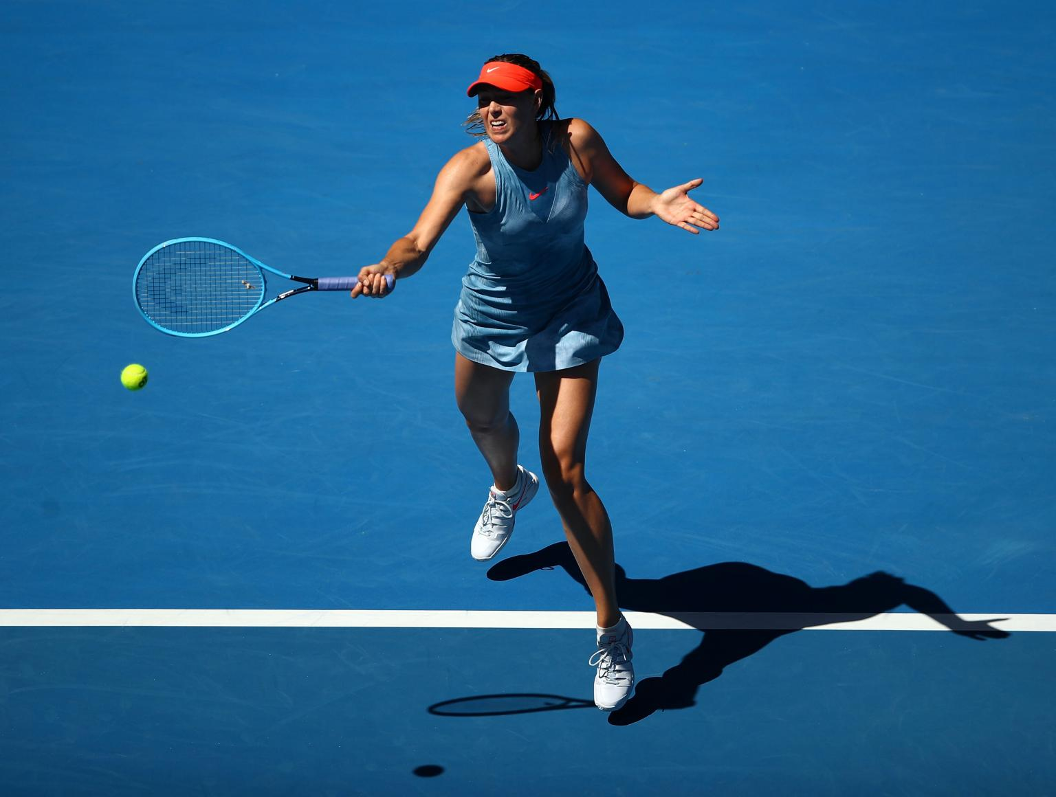 Sharapova, Sabalenka cruise into second round of Australian Open