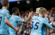 Premier League: Man City white wash Chelsea in a 6-0 thriller + Tottenham 3 - 1 Leicester