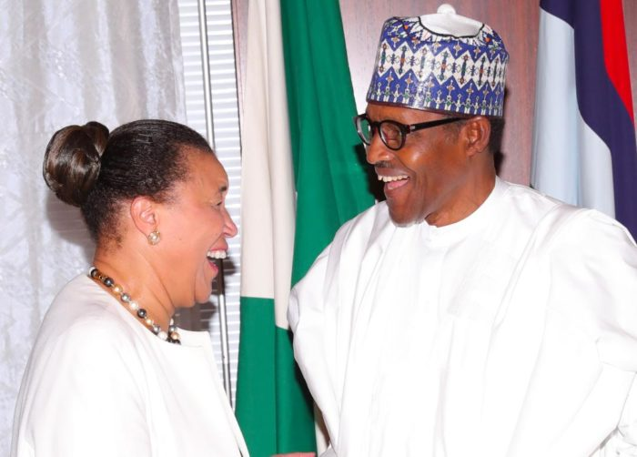 Buhari assures Commonwealth scribe Elections will be fair and free