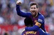 La Liga: Messi scores 50th hat-trick as Barcelona beat Sevilla + Other Results