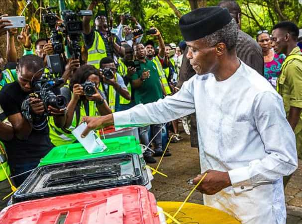 Nigeria Decides 2019: Atiku wins Osinbajo's polling unit in Lagos