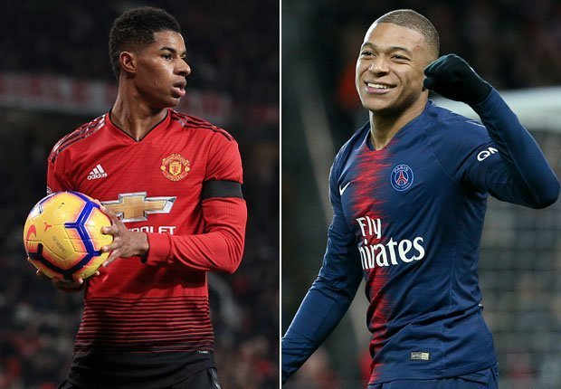 UEFA Champions League: Man Utd vs PSG (9.00pm WAST) - Rashford's acid test to prove he can join Mbappe and world's elite