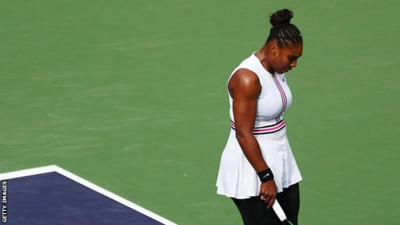 Serena Williams: Former world number one retires from third-round match at Indian Wells