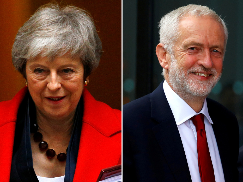 Brexit: I had no choice but to approach Labour - May