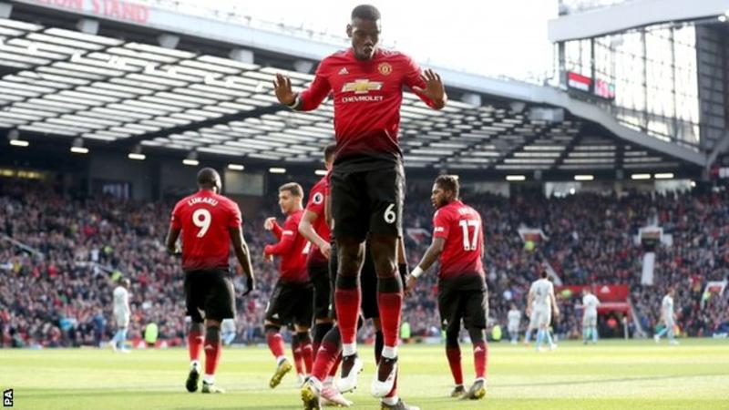 Premier League Results: Two Pogba Penalties gift Manchester United victory over much better West Ham United + All the Results