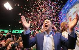 Comedian Zelensky wins Ukrainian presidential election by landslide