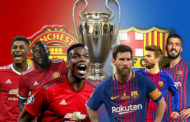 CHAMPIONS LEAGUE Q/FINAL FIRST LEG: MAN UTD HOST FC BARCELONA (20:00 GMT)