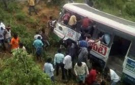 After surviving road accident bus driver found dead hanging from a tree