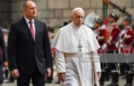 Pope Francis starts three-day visit to Bulgaria and North Macedonia