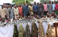 Police arrest 93 kidnap suspects