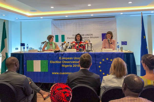 EU report on elections: Presidency insists elections fair, PDP alleges fraud, killings