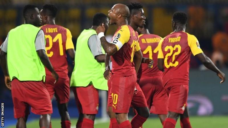 AFCON 2019: Ayew brothers on target for Ghana in 2-2 draw with Benin + Today's Fixtures