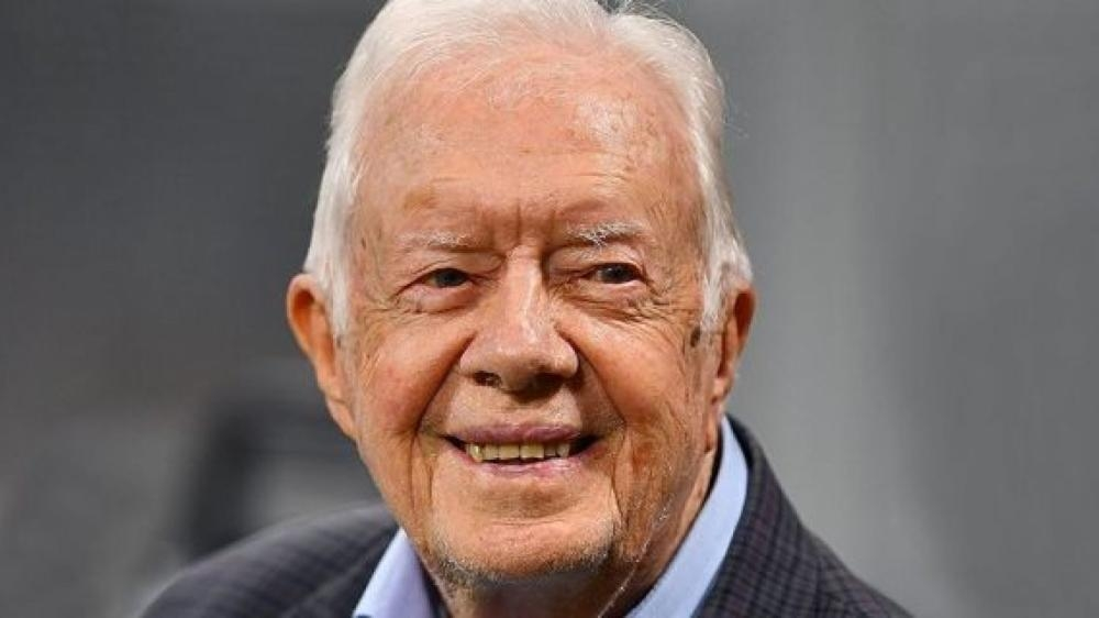 Ex-president Carter resumes teaching Sunday School at 94 after hip surgery