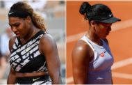 Serena Williams, Naomi Osaka crash out of French Open