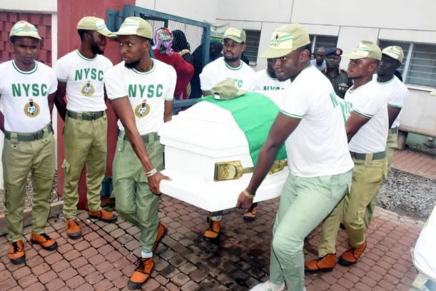 NYSC mourns as member killed during Shi'ites' protest buried