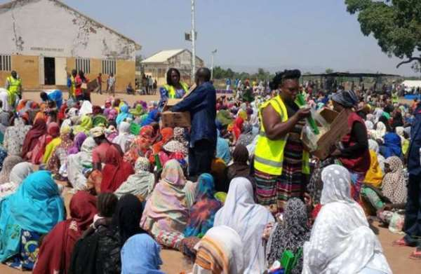 300,000 Borno residents get N1bn Aid from NGO